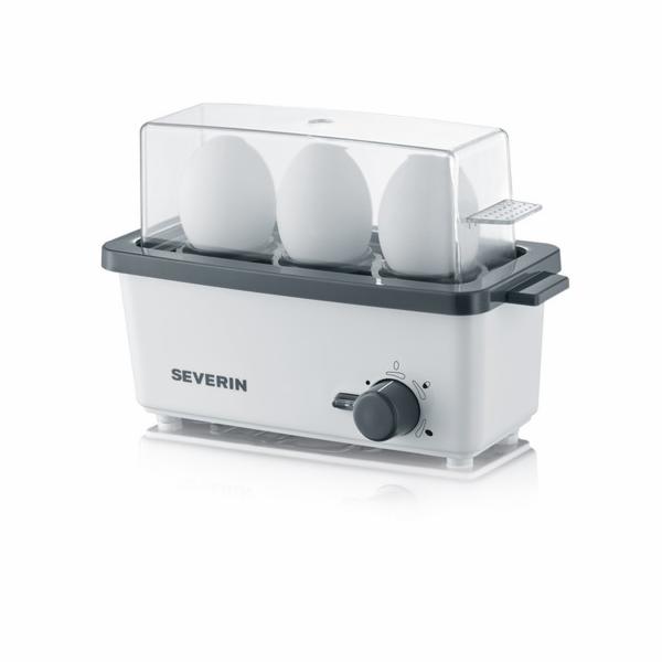 Severin EK 3161 Eierkocher weiß-grau