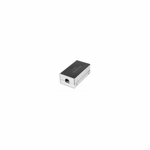 Intellinet spojka na stíněný Cat6 FTP kabel, stříbrná
