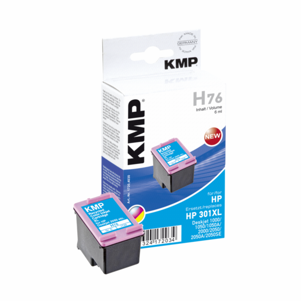 KMP H76 cartridge barevna kompatibilni s HP CH 564 EE