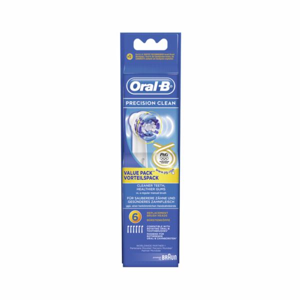 Braun Oral-B nahradni hlavice Precision Clean Olympia 6ks
