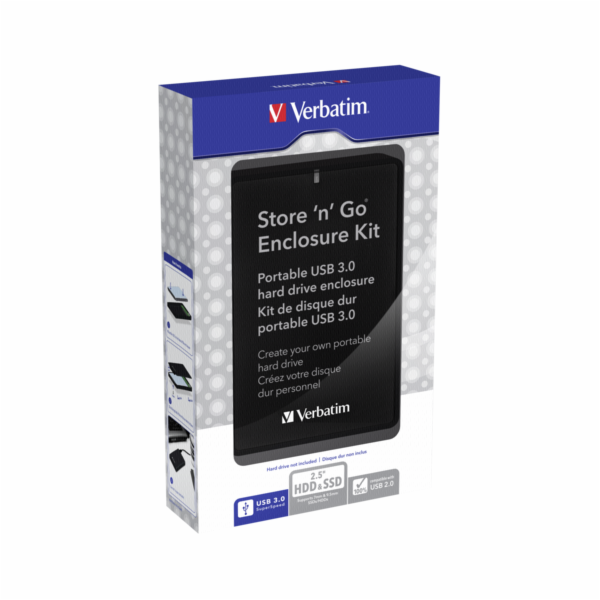 Verbatim Store n Go 2,5 Enclosure Kit USB 3.0