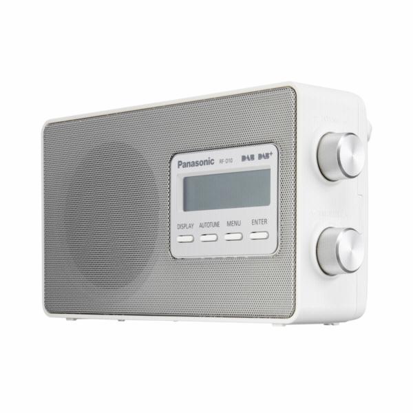 Radiopřijímač Panasonic RF-D 10 EG-W bílý