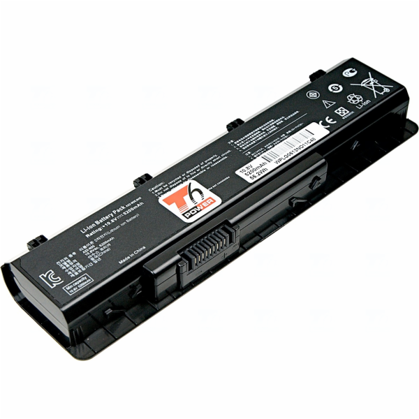 Baterie T6 power Asus N45, N55, N75, 6cell, 5200mAh