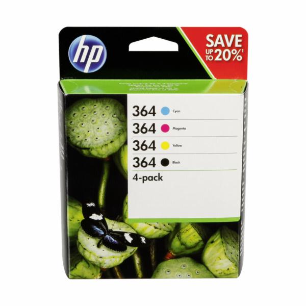 HP N9J73AE Combo 4-Pack BK/C/M/Y No. 364