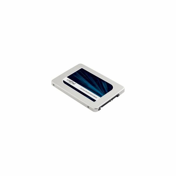 "Crucial MX300 SSD 525GB SATA III 2.5"" 3D TLC 7mm (čtení/zápis: 530/510MB/s; 92/83K IOPS)"