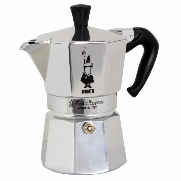 Kávovar Bialetti Moka Express na 3 šálky kávy