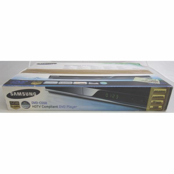 BAZAR - DVD přehrávač Samsung DVD-C550