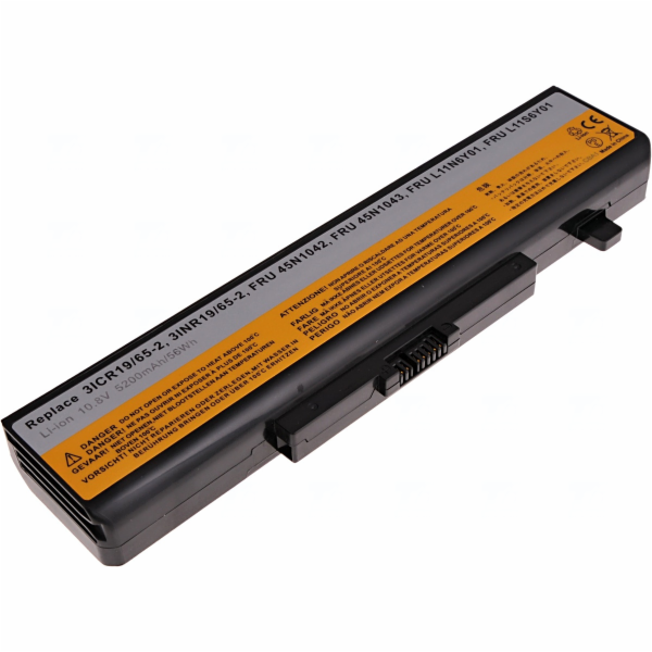 Baterie T6 power Lenovo IdeaPad B480, B580, G480, B590, Z480, V480, Edge E530, 6cell, 5200mAh