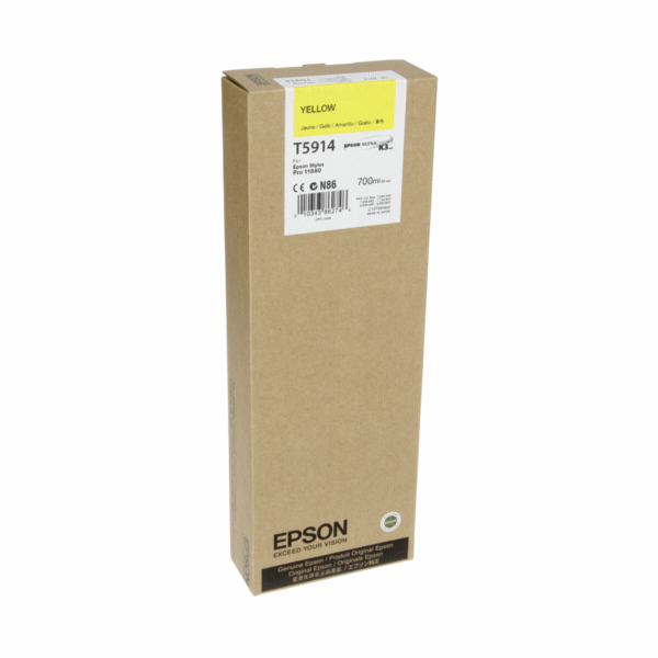 Epson cartridge zluta T 591 700 ml T 5914