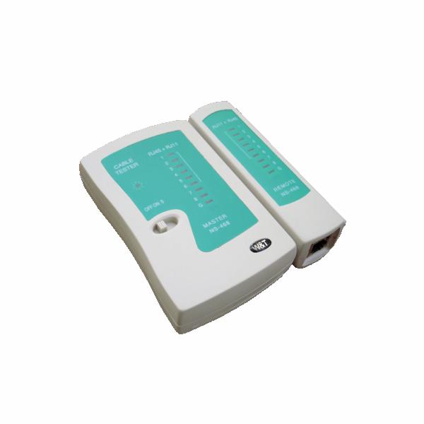 DATACOM Cable Tester LED RJ 45 / RJ 11 / RJ 12