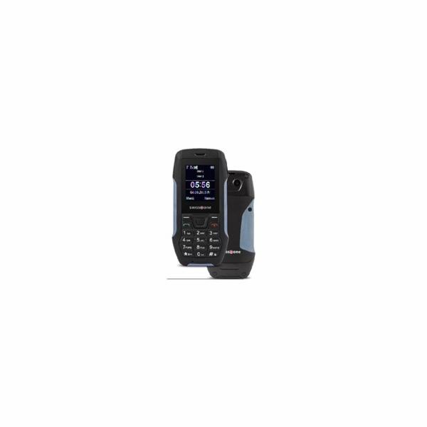Swisstone SX567 Dual SIM, outdoorový telefon, černá/modrá