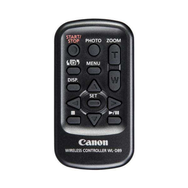 Canon WL-D89 dalkove ovladani