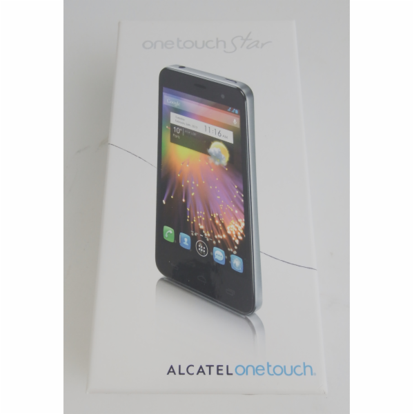 BAZAR - Alcatel One Touch Star silber