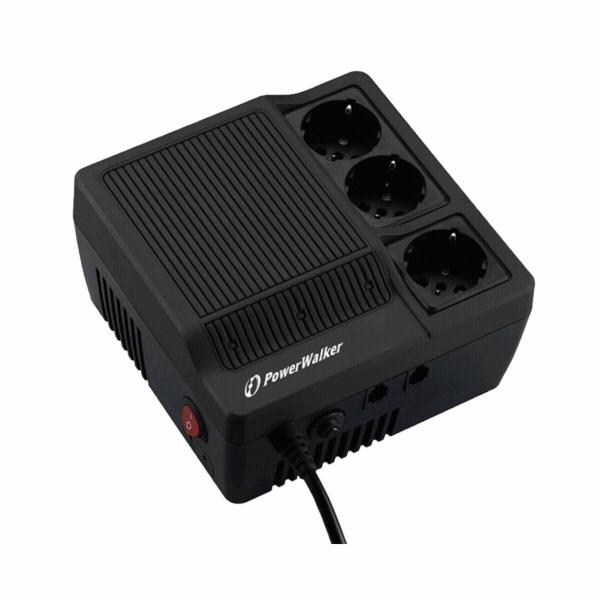 Stabilizátor napětí PowerWalker AVR 1000