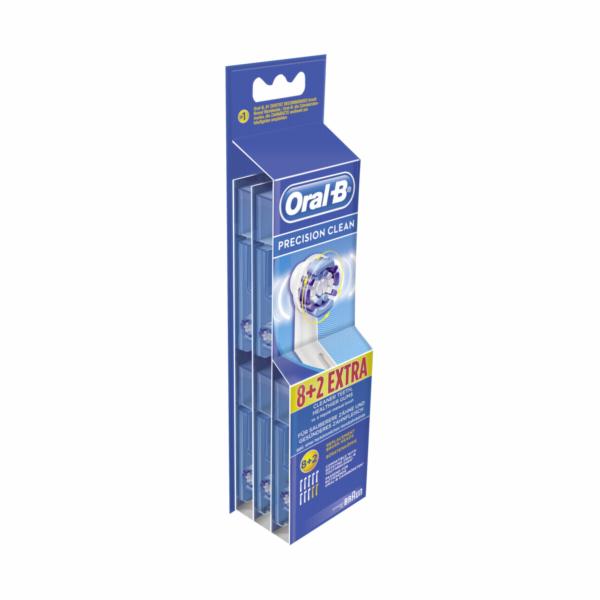 Braun Oral-B nahradni hlavice Precision Clean 8+2