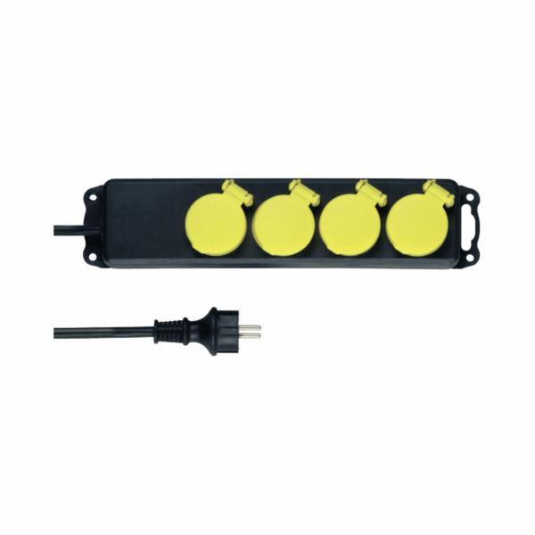 REV Multiple socket outlet 4-fold 1,4m