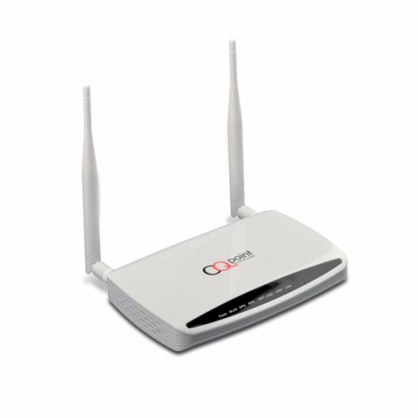 CQpoint CQ-C635 router Wi-Fi 802.11N s odnímatelnými anténami, gigabit