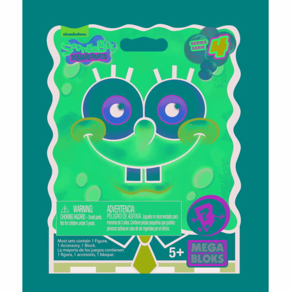 Mega Bloks Sponge Bob postavičky