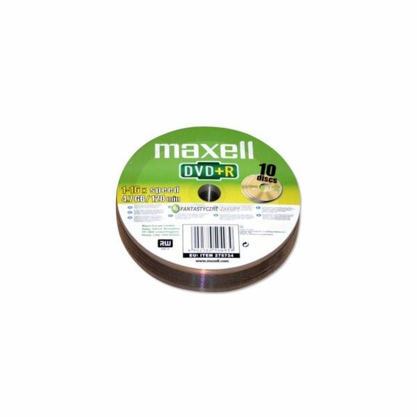 DVD+R 4,7GB 16x 10SH 275734 MAXELL