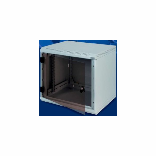 Nástěnný rozvaděč jednodílný 4U (š)600x(h)495