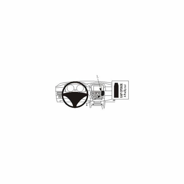 Brodit ProClip montážní konzole pro Renault Clio 99-09, na střed