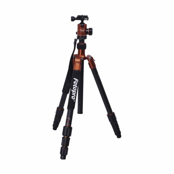 Stativ Rollei Fotopro C5i oranžový