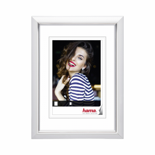 Hama Saragossa white 30x40 Plastic Frame 126254