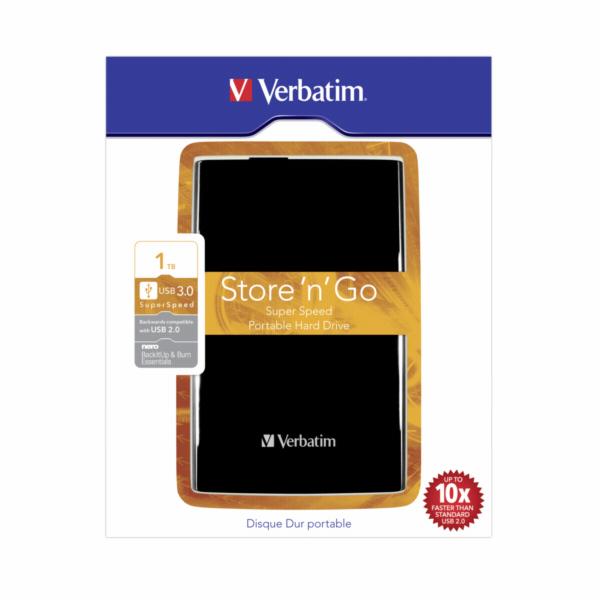 Verbatim Store n Go Portable 1TB USB 3.0 black