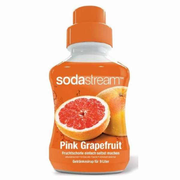 SodaStream sirup růžový grapefruit 375ml