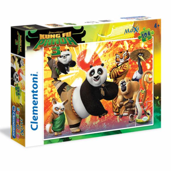 Puzzle Maxi 104 dílků Kung Fu Panda 3