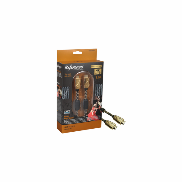 RAV 150-015 HDMI 2.0 M-M 1,5m REFERENCE
