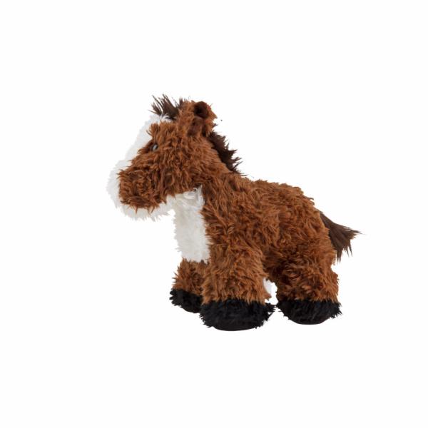 Koník plyšový raggamuffin ležící 35cm