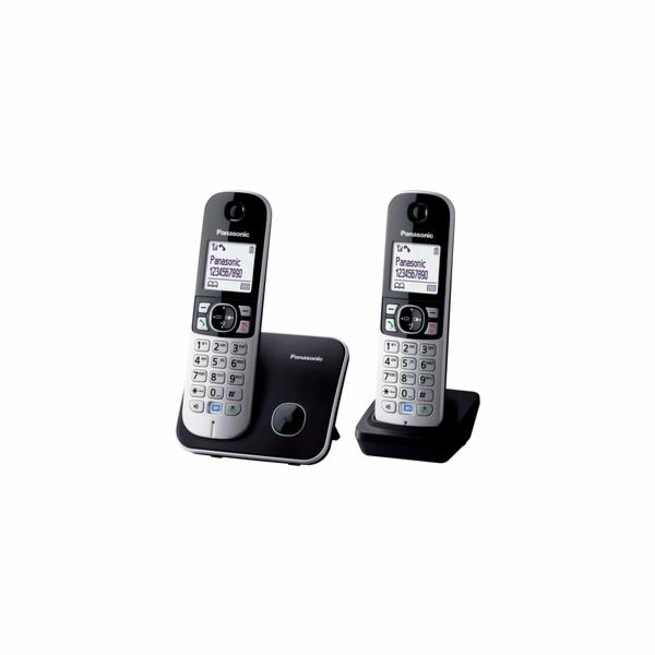 Telefon Panasonic KX TG6812FXB DUO DECT