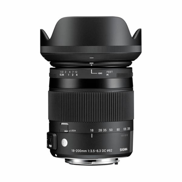 Objektiv Sigma DC 3,5-6,3/18-200 OS HSM Nikon