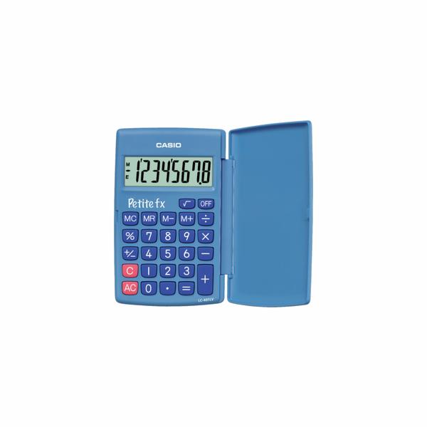 Kalkulačka Casio FX LC 401 LV/ BU modrá