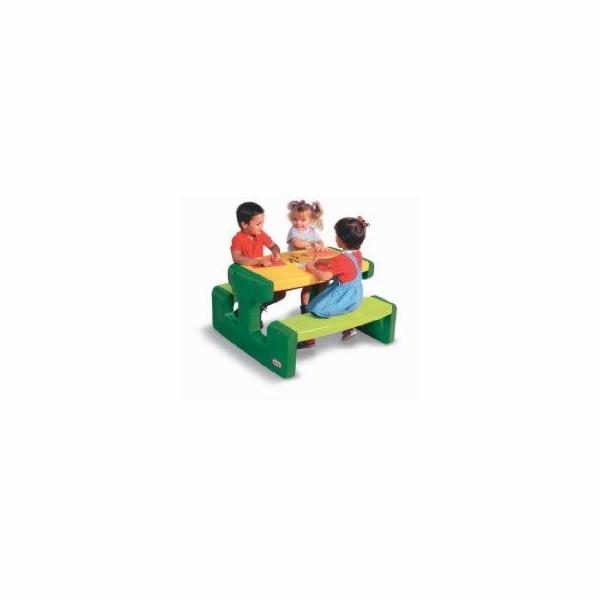 Little Tikes Piknikový stoleček velký - Evergreen