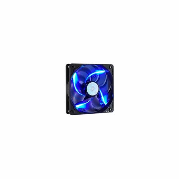 ventilátor Coolermaster SickleFlow 120x120, long life sleave, 19dBA, modrá LED