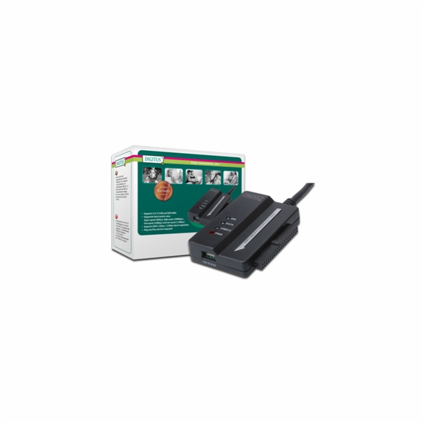 Digitus adaptér pro připojení IDE/SATA HDD na USB 3.0