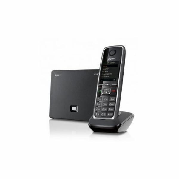 SIEMENS Gigaset C530 IP Black - bezdrátový IP telefon