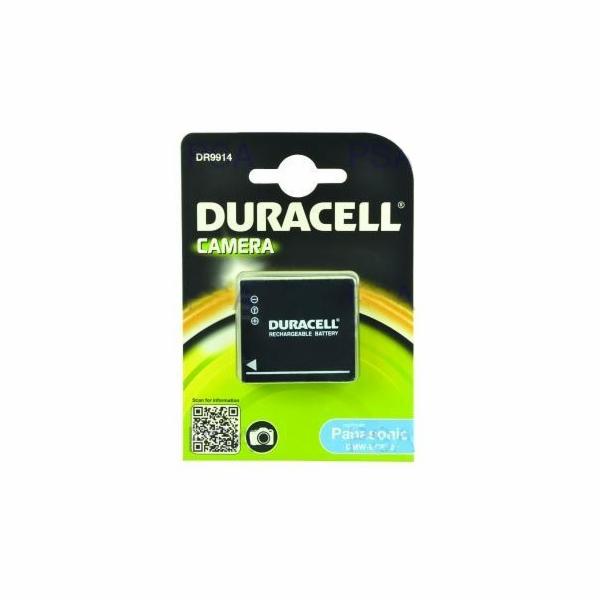 DURACELL Baterie - DR9914 pro Panasonic DMW-BCE10E, černá, 700 mAh, 3.7V