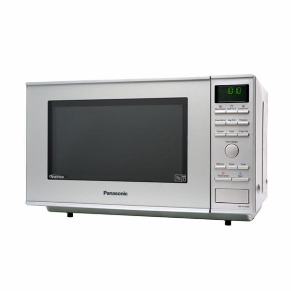 Mikrovlnná trouba Panasonic NN-CF 760 stříbrná