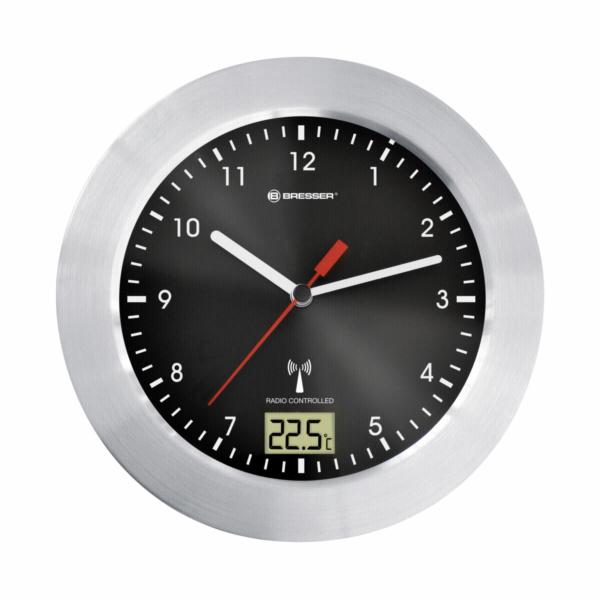 Bresser MyTime Bath black radio controlled Bathroom Clock