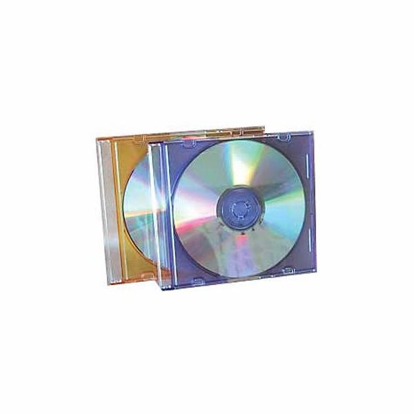 Krabička na 1x CD - čirá - slim