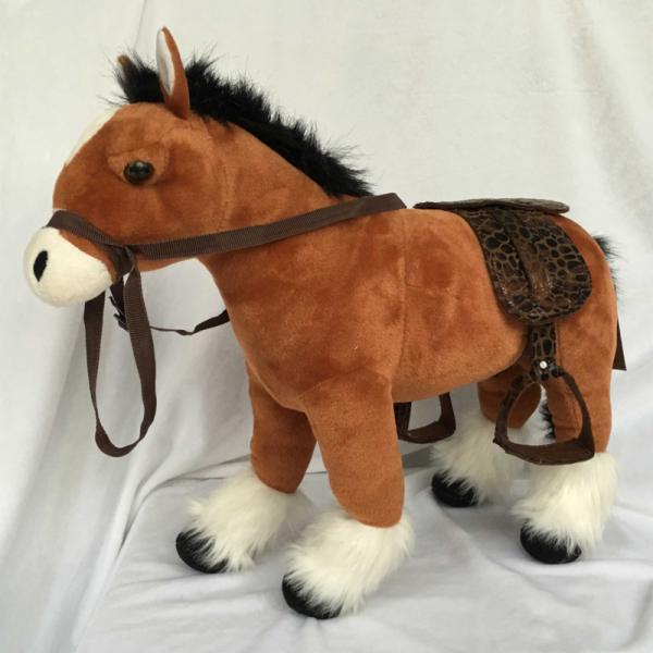 Plyšový Kůň hnědý 48 cm