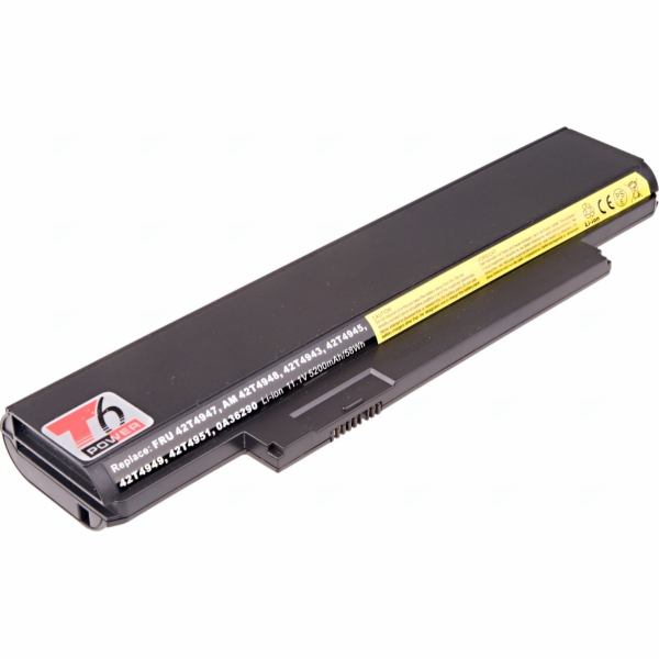 Baterie T6 power Lenovo ThinkPad Edge E120, E125, E320, E325, X121e, X130e, X131e, 6cell, 5200mAh