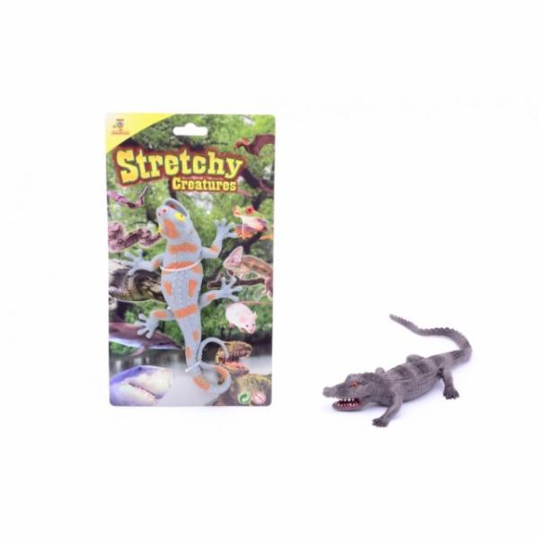 Johntoys Natahovací ještěrka/krokodýl
