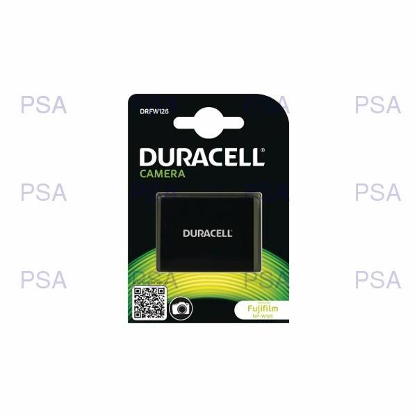 DURACELL Baterie - pro digitální fotoaparát nahrazuje Fujifilm NP-W126, 7,2V, 1000 mAh