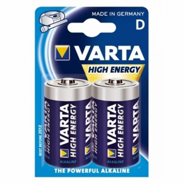 Baterie 2-Pack Varta High Energy 4920 LR20