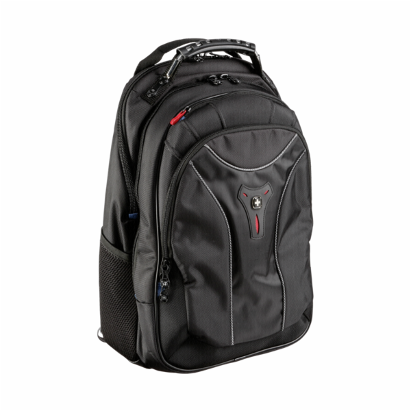 Batoh Wenger Apple Carbon Backpack cerna