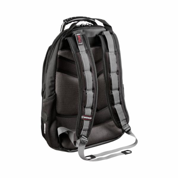Batoh Wenger Apple Carbon Backpack cerna